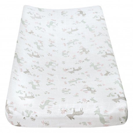 Perlimpinpin - Muslin Fitted Change Pad Cover