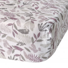 Perlimpinpin - Cotton Muslin Fitted Crib Sheet