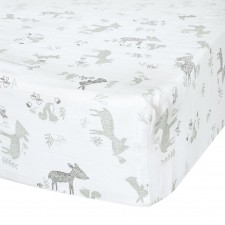 Perlimpinpin - Muslin Fitted Crib Sheet