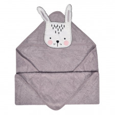 Perlimpinpin - Hooded Towel - Bunny