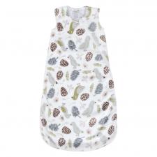 Perlimpinpin - Plush Sleep Bag - Birds (1.5 togs)
