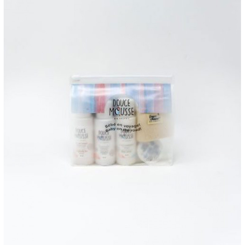 Douce Mousse - Travel Kit (5items) Bio