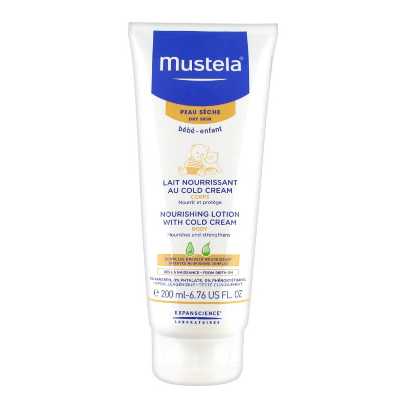 Mustela - Noutrishing Lotion with Cold Cream 200 ml