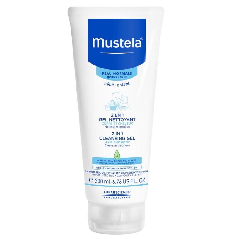 Mustela - 2 en 1 Gel Nettoyant Corps et Cheveux