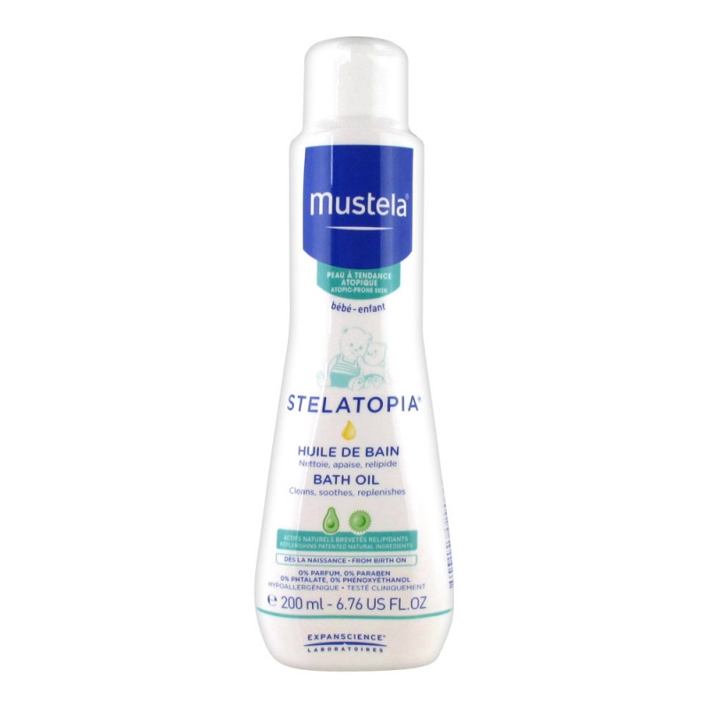 Mustela - Stelatopia - Bath oil 200 ml