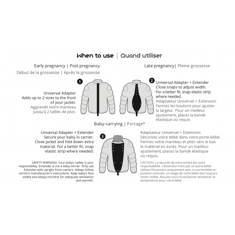 Make My Belly Fit - Universal Jacket Extender