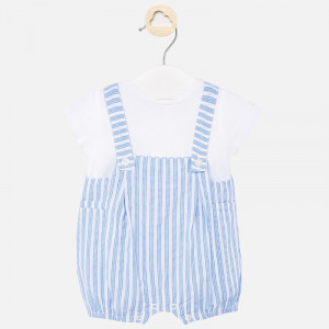 Mayoral - Baby Boy Striped Onesie