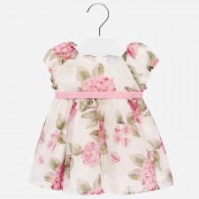 Mayoral - Baby Bow Flower Dress
