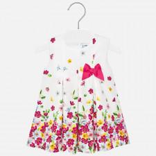 Mayoral - Baby Strawberry Flower Dress