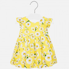 Mayoral - Baby Yellow Flower Dress