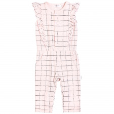 Miles Baby - Light Pink Tennis Net Playsuit