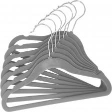 Tendertyme - 10 Pack Baby Hangers - Grey