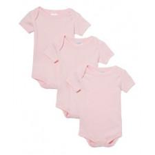 Necessities - 3 Pack Bodysuits - Pink