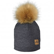 Perlimpinpin - Pompom Hat - Charcoal