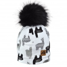 Perlimpinpin - Pompom Hat - Lamas