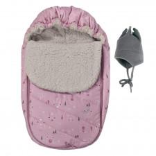 Perlimpinpin - Car Seat Cover - Pink Bears