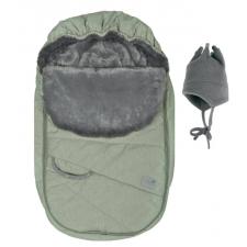 Perlimpinpin - Car Seat Cover - Kaki Dots