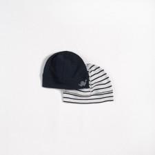 Petit Lem - Ensemble de 2 bonnets en coton biologique
