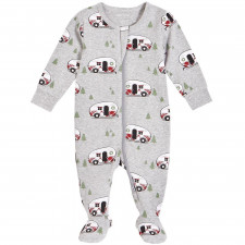 "Petit Lem - ""Holiday Vacation"" Sleeper with Organic Cotton"