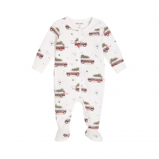"Petit Lem - ""Home for the Holidays"" Sleeper with Organic Cotton"