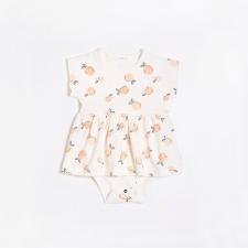 Petit Lem - Peplum Dress - Peaches