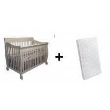 COMBO JESSIE - Convertible Crib + Mattress