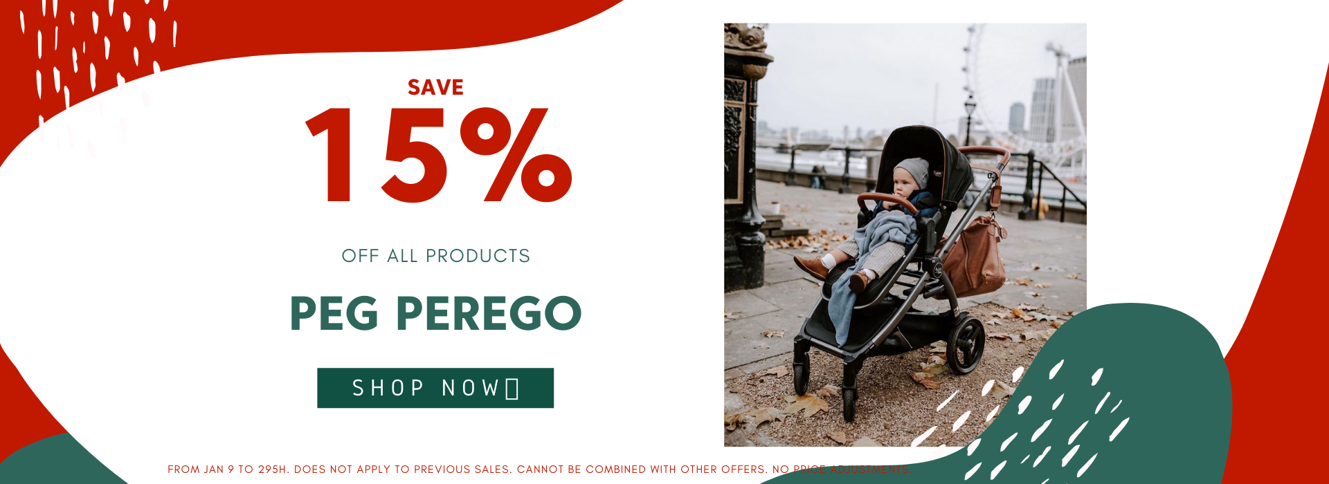 PEG PEREGO 15% OFF