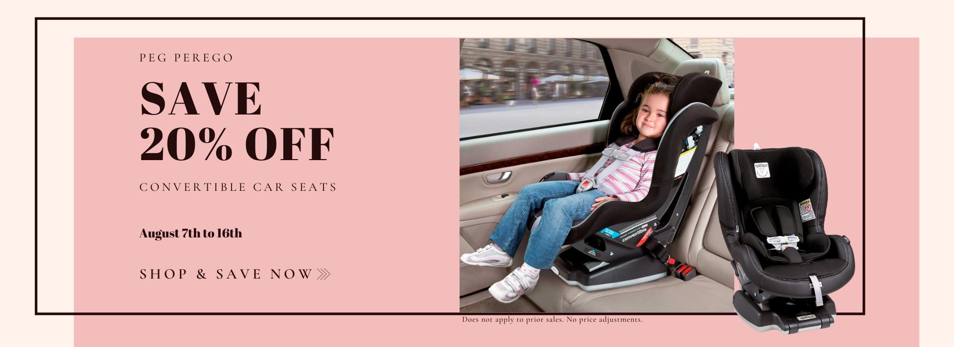 peg perego kinetic 5-65 car seat sale