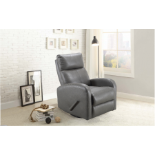 Benjamin Stroller - Swivel Glider Recliner - Light Grey