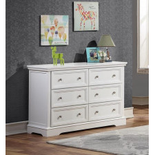 Concord - Brooklyn Double Dresser - White