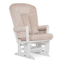Dutailier - Chaise Berçante en bois Serie 64 (Blanc)