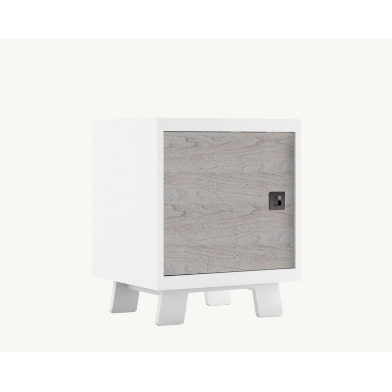 Dutailier - Pomelo Night Table - Rustic Grey