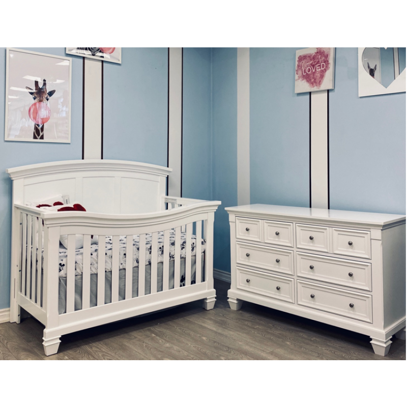 Lil Angels - Brittany Convertible Crib
