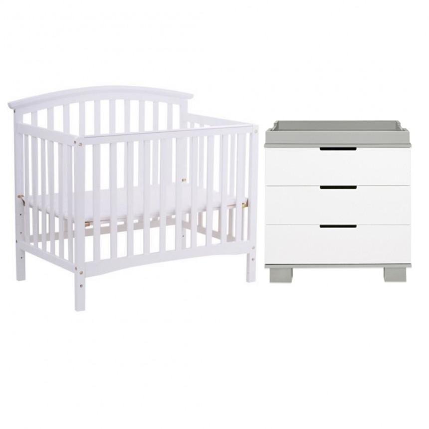 Lil Angels - Lit de bébé & Table à langer Collection Janney