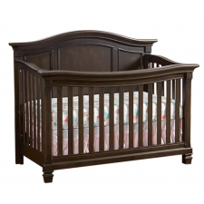 Lil Angels - Victoria Convertible Crib - Mocachinno