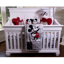 Lil Angels - Belmont - Convertible Crib - White