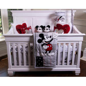 Lil Angels - Belmont Convertible Crib - White