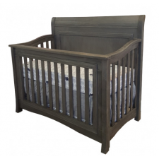 Lil Angels - Preston Convertible Crib - Granite
