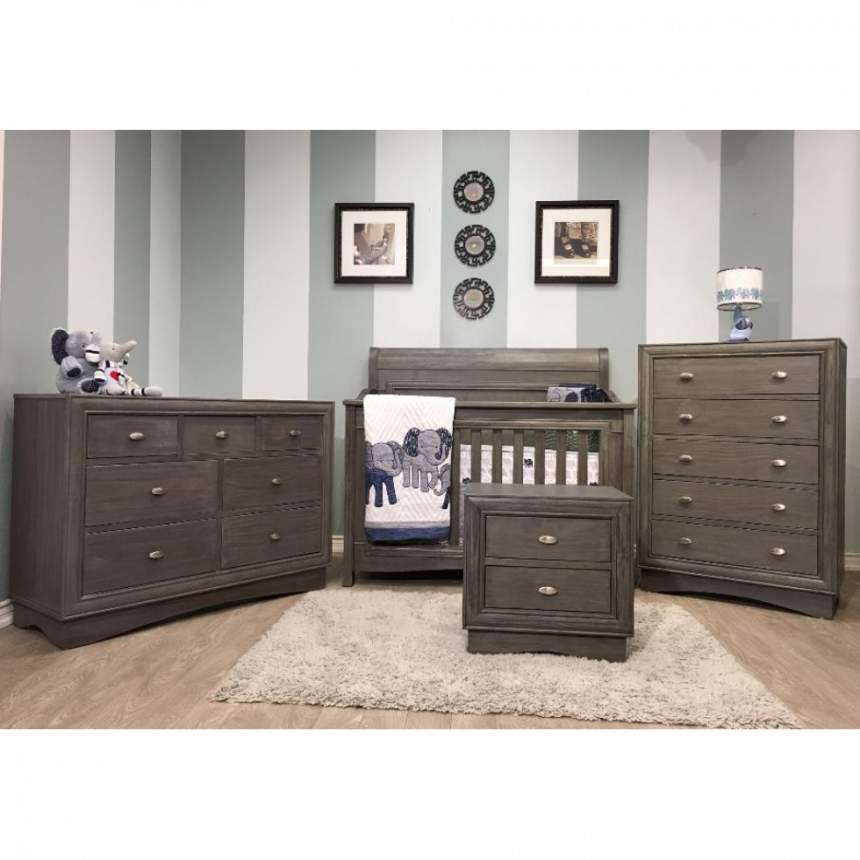 Lil Angels - Collection Preston  Bassientte & Commode double - Granite