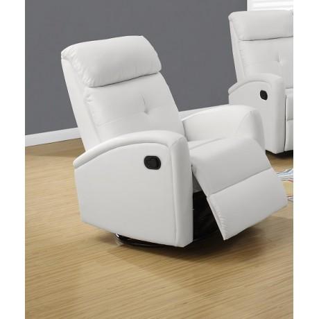 Monarch - Recliner, Swivel Glider White