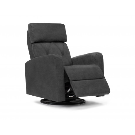 Monarch - Swivel, Rocking, Electric Glider - Grey