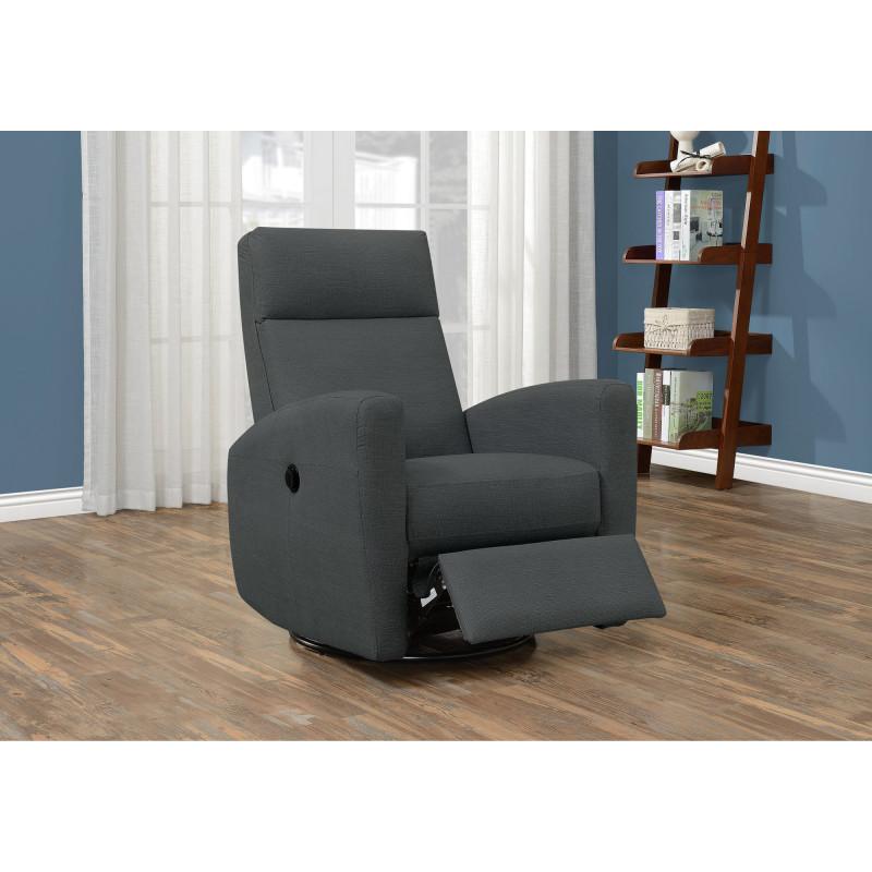 Monarch - Reclining Chair - Power swivel glider