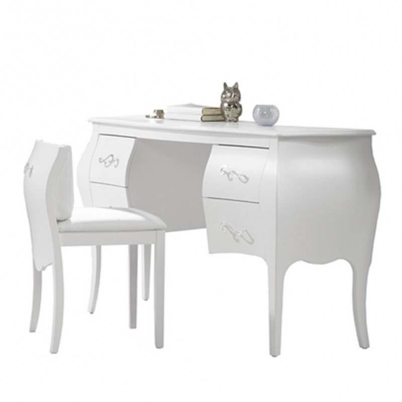 Natart - Allegra - Desk/Vanity (with pull-out chair)