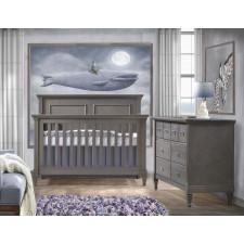 Natart - Belmont Convertible Crib + Double Dresser (Demo)
