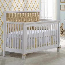 Natart - Belmont - 5-in-1 Convertible Crib With Panel