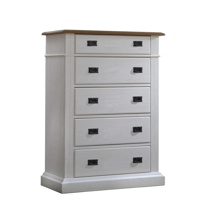 Natart - Cortina - 5 Drawer Dresser
