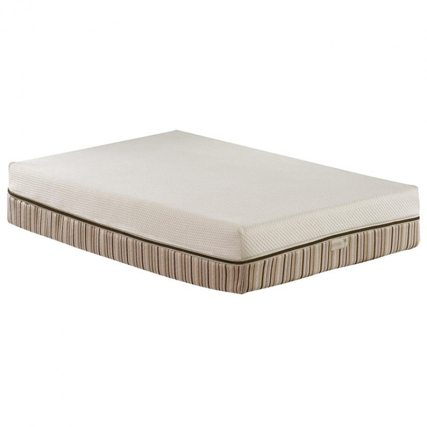 Natart - Essentia - Natural Memory Foam Crib Mattress with incorporated quilted zip-off waterproof cover