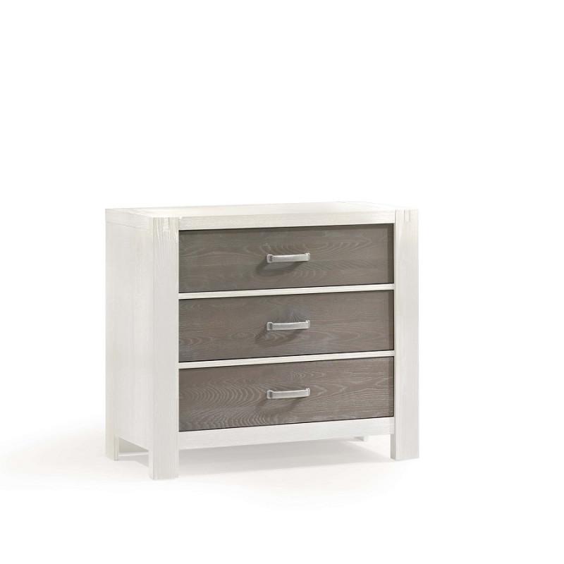 Natart - Rustico-Moderno - 3 Drawer Dresser