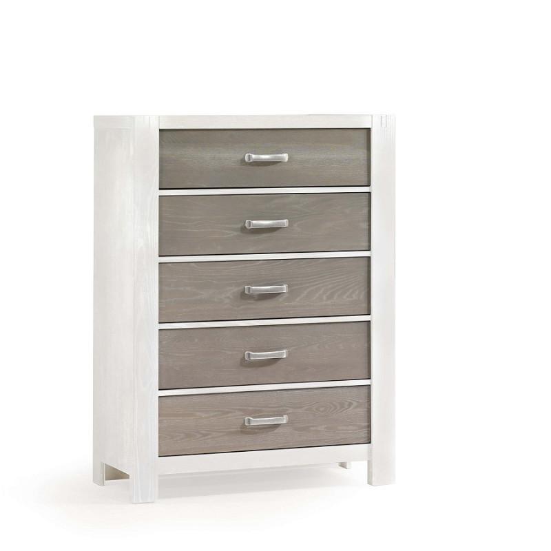 Natart - Rustico Moderno - 5 Drawer Dresser