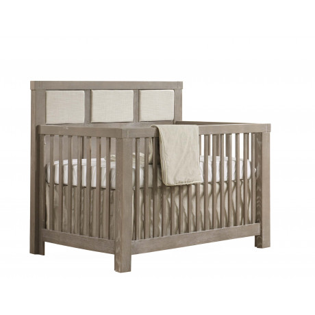 Natart - Rustico - Convertible Crib With Panel